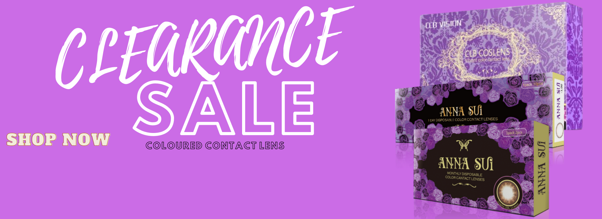 CLEARANCE SALE CONTACT LENS