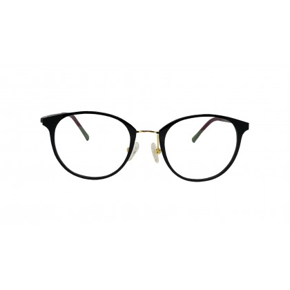 FASHION RECTANGLES SPECTACLES FOR UNISEX (BLACK)