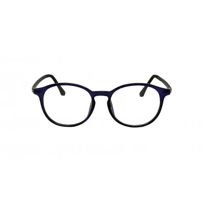 CASUAL ROUND SPECTACLES UNISEX (BLUE)