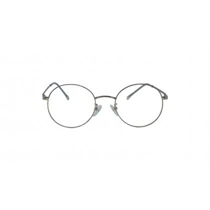 [METAL] FASHION DIAMOND SPECTACLES FOR UNISEX (GREY)